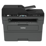 Brother Compact Monochrome Laser All-in-One Multi-function Printer, MFCL2710DW, Duplex Two-sided Printing, Wireless Printing