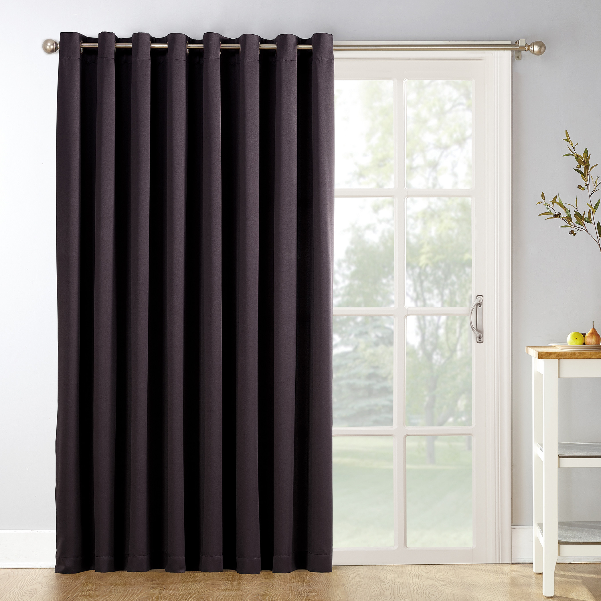 Extra Wide Patio Door Curtains