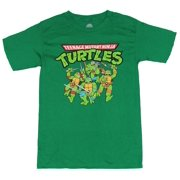 24dbb488714 Teenage Mutant Ninja Turtles Mens T-Shirt - TMNT Charging Cartoon Guys  (Medium