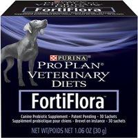Purina Pro Plan Veterinary Diets FortiFlora Probiotic Dog Supplement, 30 Sachets