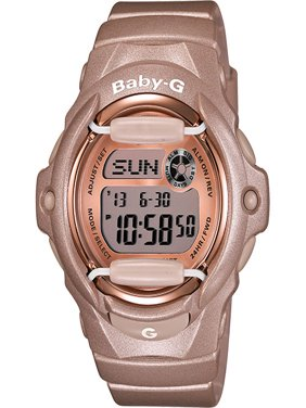 Baby-G Rose Gold-Tone Ladies Watch BG169G-4