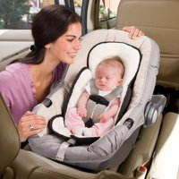Snuzzler Infant Support Insert - Velboa - Black
