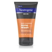 Neutrogena Men Skin Clearing Salicylic Acid Acne Face Wash, 5.1 fl. oz