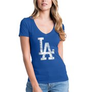 Women s 5th   Ocean by New Era Royal Los Angeles Dodgers V-Neck Team T 41362c8c716