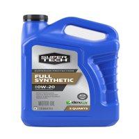Super Tech Full Synthetic SAE 0W-20 Motor Oil, 5 Quarts