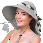 517035d877d Sun Hats for Women with Neck Flap