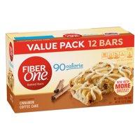 Fiber One 90 Calorie Cinnamon Coffee Cake 12 Fiber Bars