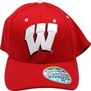 super popular 2d279 a0729 NCAA Zephyr Wisconsin Badgers Flex Fit Adult Cap Hat XL