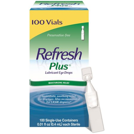 Refresh Plus® Lubricant Eye Drops Sensitive 100 ct.