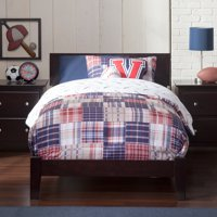 Orlando Traditional Bed in Multiple Colors and Sizes