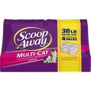 Scoop Away Multi-Cat, Scented Cat Litter, 38 lbs