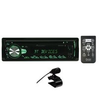 Pioneer Deh-S5000Bt Single-Din In-Dash CD Receiver with Bluetooth & Illuminated Rotary Knob