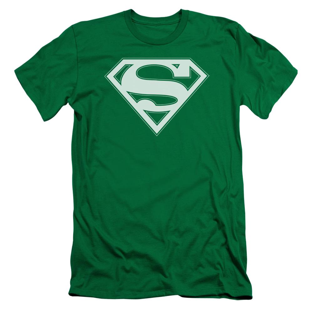 Men Superman Steel Poses Premium Adult Slim Fit T-Shirt