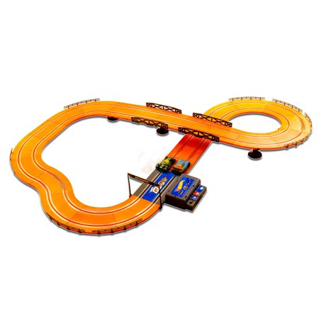 Slot Car Brands - Hot Wheels Battery Operated 12.4' Slot Track