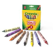 Crayola Jumbo Easy Grasp Crayons, 8 Count