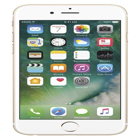 Apple iPhone 6s (Refurbished) 128GB, Gold - Unlocked GSM (Refurbished Pda Cell Phones)