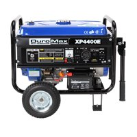 DuroMax XP4400E 4400 Watt 7 Hp 8 Hour RV Grade Gas Generator w/ Electric Start