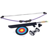 CenterPoint Upland Purple Compound Bow Archery Set AYC1024PU