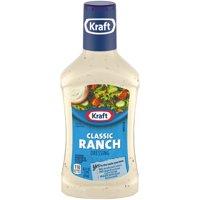 (3 Pack) Kraft Classic Ranch Dressing 16 FL Oz Bottle
