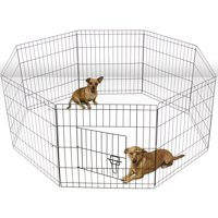 Paws & Pals Large Hammigrid Wire Folding 8-Panel Pop-Up Kennel, 2018 Design