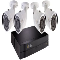 Q-See 4Ch 1080P NVR Security Camera System with 4 1080P HD IP Bullet Security Cameras and 1TB HDD