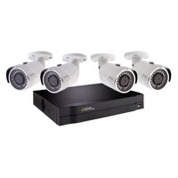 4 CHANNEL 1080P NVR WITH (4) x 1080P HD BULLET SECURITY CAMERA AND 1TB HDD