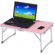 Costway Portable Folding Table Car Bed Sofa Laptop Notebook Desk Tray Stand