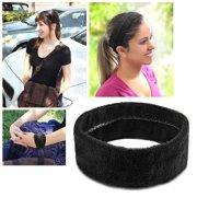 Zodaca Black Fashion Yoga Elastic Headband Head Hair Band Women Ladies Girl  Accessories Sport c1a0d3fa9ef