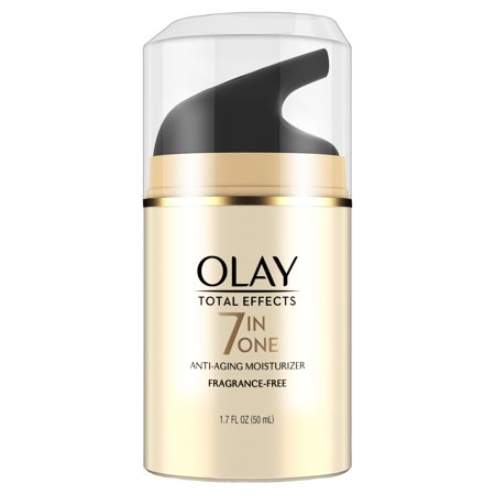 Olay Total Effects Anti-Aging Face Moisturizer, Fragrance-Free 1.7 fl (Home Remedy For Age Spots And Wrinkles)