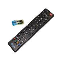 HQRP Remote Control for Toshiba 58L4300U, 58L5400U, 58L7300U, 58L7300UM, 58L7350U, 58L8400U LCD LED HD TV Smart 1080p 3D Ultra 4K + HQRP Coaster