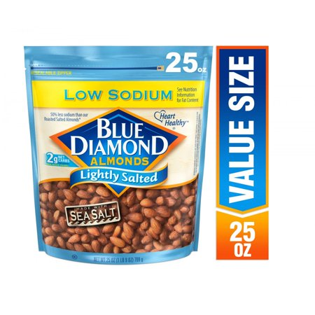 Blue Diamond Almonds, Lightly Salted 25 oz