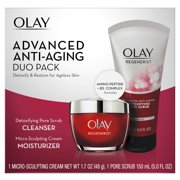Olay Regenerist Advanced Anti-Aging Cleanser and Moisturizer Duo Pack