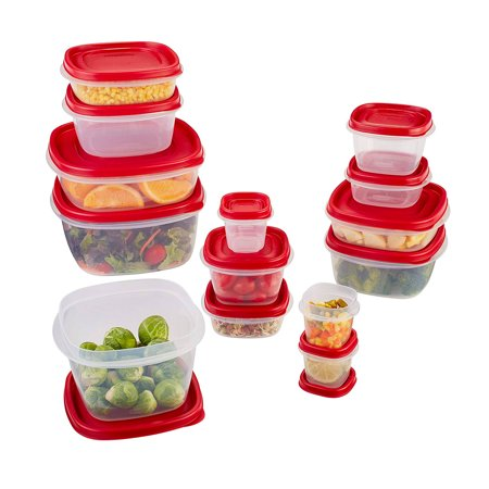 Rubbermaid Food Storage Containers With Easy Find Lids 28