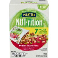 (4 Pack) Planters NUT-rition Heart Healthy Mix, 5 - 1.5 oz Box