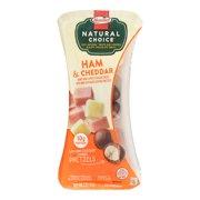 Hormel Natural Choice Honey Ham Mild White Cheddar & Dark Chocolate Pretzels, 2 Oz.