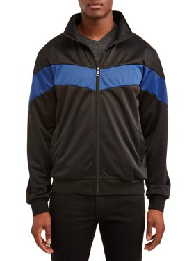 Men's Full Zip Track Jacket, Up to Size 3XL