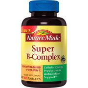 Nature Made® Super B-Complex Dietary Supplement Tablets 390ct