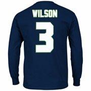 Russell Wilson Seattle Seahawks NFL Majestic Men s Navy Blue