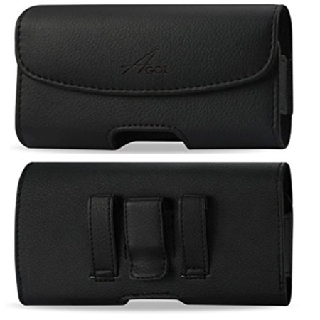 For Huawei Ascend XT H1611, Premium Leather AGOZ Pouch Case Holster with Belt Clip & Belt Loops](body glove for the huawei ascend xt)