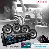 Pioneer 2018 Digital Media Receiver & Speaker Holiday Bundle with Pandora Premium Trial