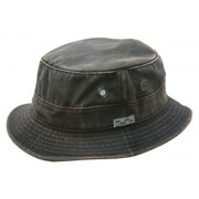 e208aed8 Conner Hats Men's Weathered Cotton Bucket Hat Brown XL