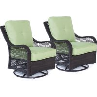 Hanover Orleans Outdoor Swivel Rocking Lounge Chairs