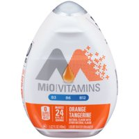 (12 Pack) MiO Orange Tangerine Liquid Water Enhancer, 1.62 fl oz Bottle