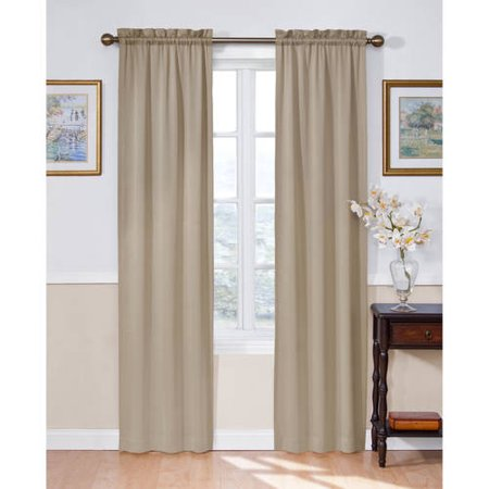 Eclipse Solid Thermapanel Room-Darkening Curtain