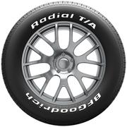 BFGoodrich Radial T/A Performance All-Season Tire P235/60R15 98S