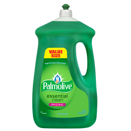 Palmolive Liquid Dish Soap Essential Clean, Original - 90 fluid