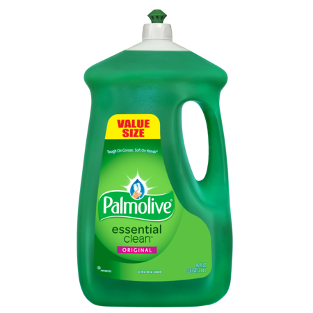 - Palmolive Liquid Dish Soap Essential Clean, Original - 90 fluid ounce