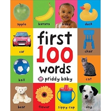 First 100 Words - Girl First Day Of School