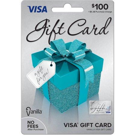 Visa 100 Gift Card Walmartcom