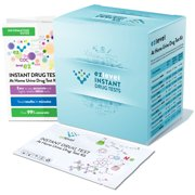 EZ Level 15 Pack Marijuana THC At Home Urine Drug Test Kit (15 Tests)